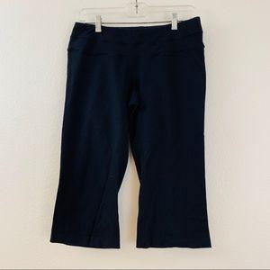 Lucy LucyPower Black Athletic Capri Yoga Pants